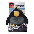Angry Birds Movie Large Clip On Soft Toy - Bomb