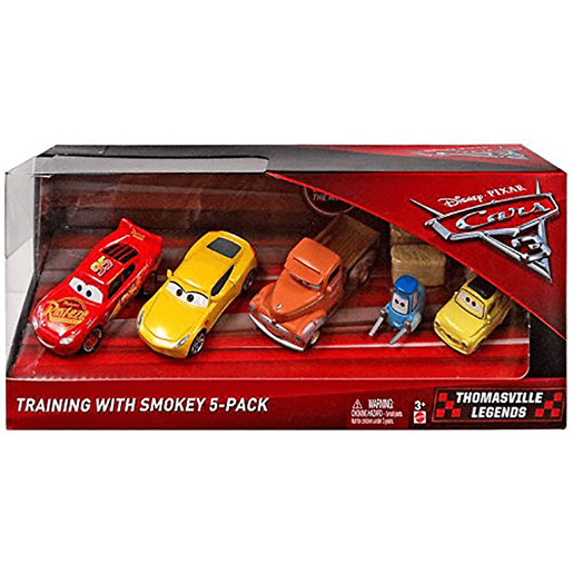 Disney Pixar Cars 3 Training with Smokey 5-Pack