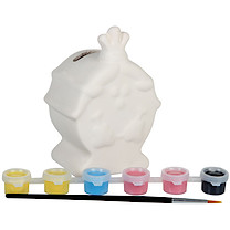 Little Miss Paint Your Own Little Miss Money Box
