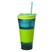 Snackeez Drink Cup - Blue and Green