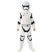 Star Wars The Force Awakens Stormtrooper Costume With Mask (7-9 Years)