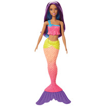 Barbie Mermaid Doll - Purple Hair