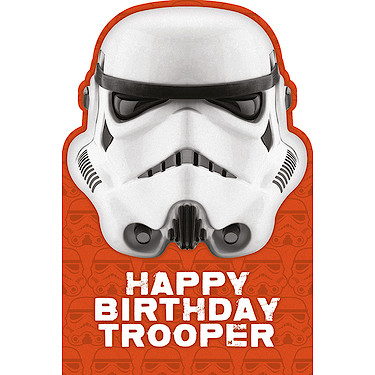 Stormtrooper birthday card the entertainer the entertainer stormtrooper birthday card enlarged view of picture bookmarktalkfo Images