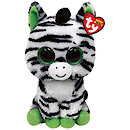 Ty Beanie Buddy - Zig-Zag the Zebra Soft Toy