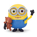 Minions Movie - Minion Bob Action Figure with Teddy Bear