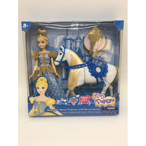 Picture of You Are A Princess - Midnight Moon Princess With Royal Horse