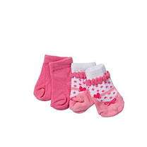 Baby Born Doll Socks (Styles Vary)