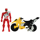 Power Rangers Dino Charge Cycle With Red Ranger Figure