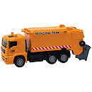 City Team Orange Rubbish Truck