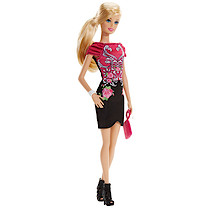Barbie Fashionistas Doll - Flower Dress