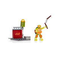 Mega Bloks Teenage Mutant Ninja Turtles Mikey Nunchuk Training Building Set