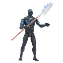 Marvel Black Panther 15cm Action Figure - Vibranium Black Panther