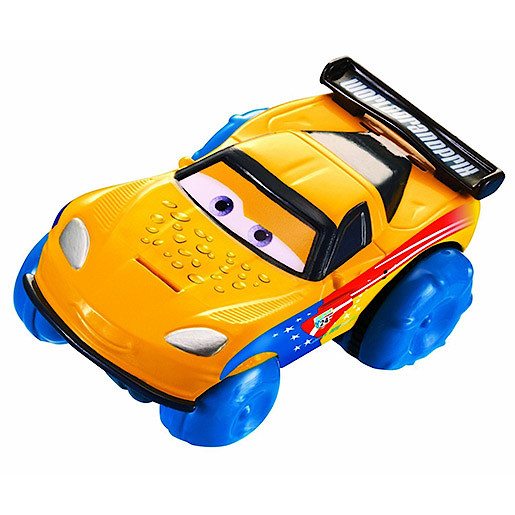 Image of Disney Pixar Cars Hydro Wheels Jeff Corvette Vehicle