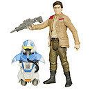 Star Wars The Force Awakens Armour Up 9cm Poe Dameron Figure