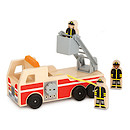 Melissa & Doug Wooden Fire Engine