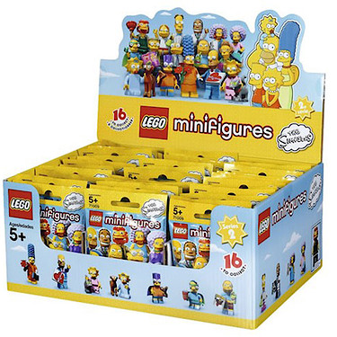 Lego The Simpsons Series 2 Minifigures Mystery Bag 60
