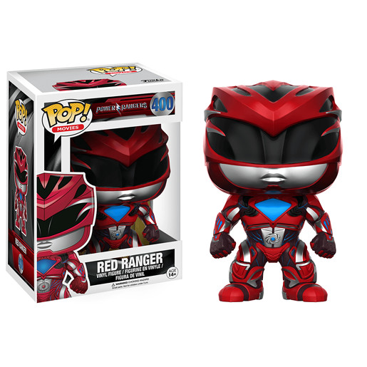 Funko Pop! Movies: Power Ranger Movie - Red Ranger