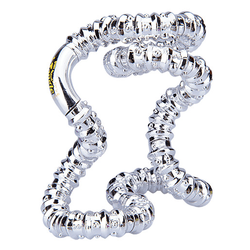 Tangle Sparkle Fidget - Silver