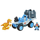 Playskool Heroes Jurassic World Deluxe Dino Tracker Vehicle