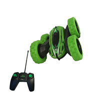 Extreme 360 RC Stunt Double - Side Roll Car - Green