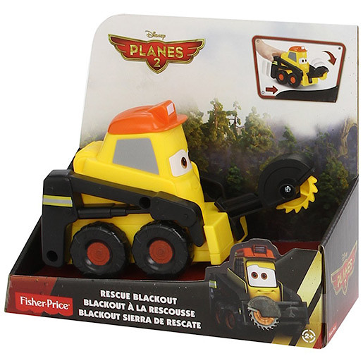Image of Disney Planes Fire and Rescue Smokejumpers Team - Rescue Blackout Vehicle