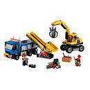 Lego City Excavator And Truck - 60075