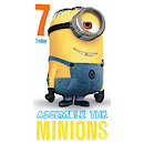 Despicable Me 7th Birthday Card