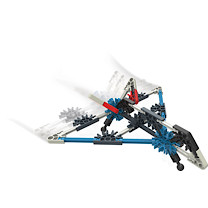 K'NEX Starter Vehicle Stealth Plane Building Set