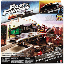 Fast & Furious Vehicle Playset - Quarter Mile Escape
