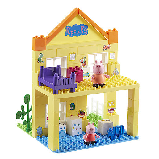 Peppa Pig Deluxe Peppa S House Construction Set