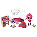 My Little Pony Equestria Girls Minis Pinkie Pie's Slumber Party Bedroom Playset