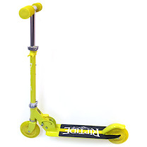 Riptide Stinger Kick Folding Aluminum Scooter - Yellow