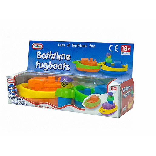 Fun Time Bathtime Tugboats
