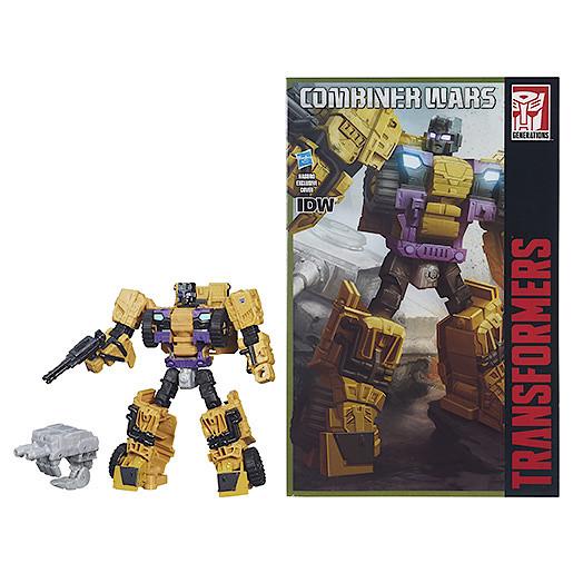 Transformers Generations Combiner Wars Swindle Figure