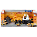 Yellow Road Loader Vehicle with Light and Sounds