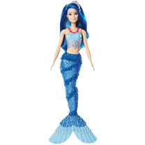 Barbie Mermaid Doll - Blue Hair