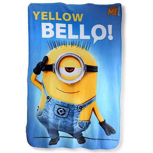 Despicable Me Fleece Blanket - Blue