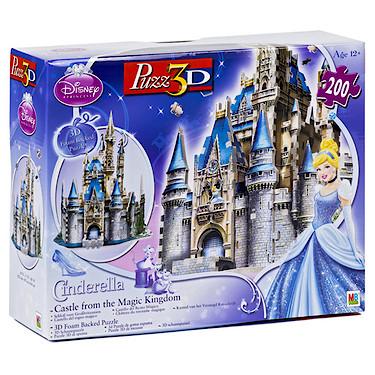 Princess Cinderella Castle 3d Puzzle 200 Pieces The