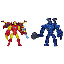 Marvel Super Hero Mashers Twin 2 Pack - Iron Man vs Iron Monger