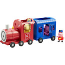 Peppa Pig Miss Rabbit's Train and Carriage Set