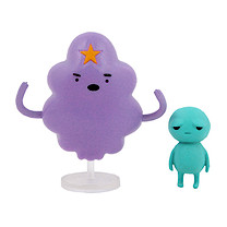 Adventure Time Lumpy Space Princess and Brad Figures