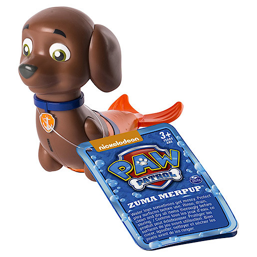 Paw Patrol Paddlin' Pups Bath Toy - Zuma Merpup