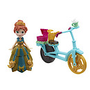 Disney Frozen Little Kingdom Anna Doll with Bike Accessory