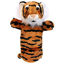Long-Sleeved Glove Puppet - Tiger