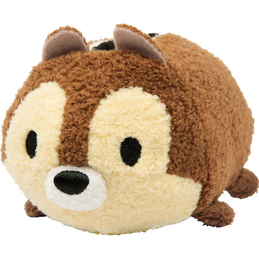 Disney Tsum Tsum 9.7cm Soft Toy - Chip By ZURU
