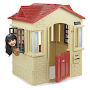 Little Tikes Cape Cottage - Tan/Red Playhouse