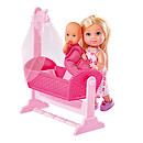 Evi Love Doll with Baby and Cradle (Styles Vary)