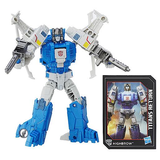 Transformers Generations Deluxe Xort & Highbrow Figure
