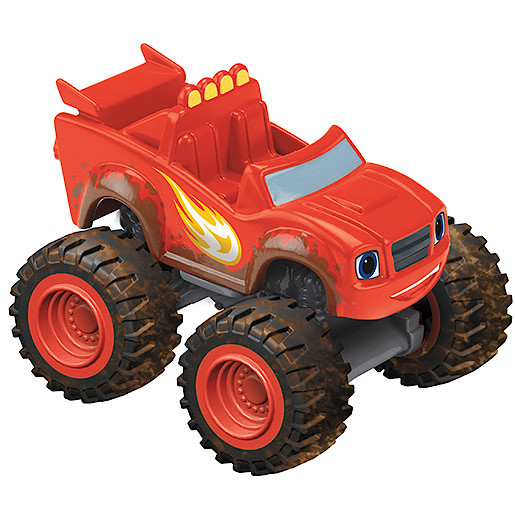 Image of Fisher-Price Blaze and the Monster Machines Die Cast Vehicle - Mud Racin' Blaze