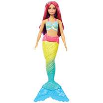 Barbie Mermaid Doll - Red Hair